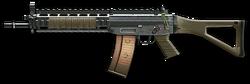 SIG 551 Render