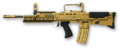 Enfield L85A2 Custom Gold Render