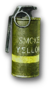 Yellow Smoke Grenade Render