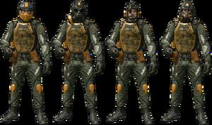 SAS Squad Skin