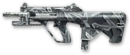 AUG A3 9mm XS Winter Camo Render