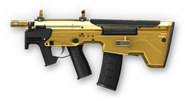 Desert Tech MDR-C Gold Render