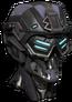 Helmet rifleman arm
