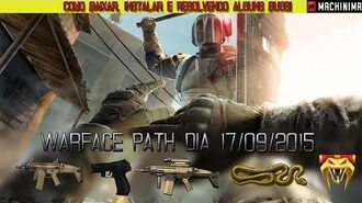 Warface - Resolvendo alguns bugs Path do dia 17 09 2015.