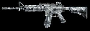 "M4A1 ""Буран"" Render"
