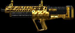 Tavor TS12 Custom Gold Render