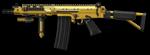 Золотой FN FAL DSA-58 Render