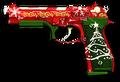 Новогодняя Beretta M9 Render