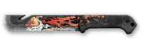 Армейский нож на Halloween Render