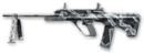 AUG A3 Hbar Winter Camo Render