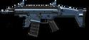 Navy Blue SCAR-L PDW