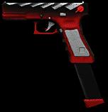 Glock 18C Cyber Slayer Render