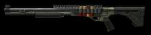 Remington 870 CB Render