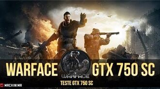 Warface -Teste da GTX 750 SC e software Shadownplay.