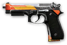 Beretta M9 Crown Render