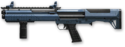 Navy Blue Kel-Tec Shotgun