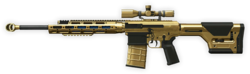 Remington R11 RSASS Gold Render