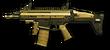 Золотой SCAR-L PDW Render
