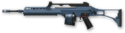 Navy Blue H&K MG36
