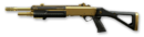 Золотой Fabarm STF 12 Compact Render