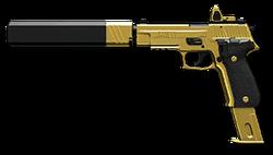 SIG Sauer P226 C Gold Render