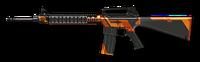Элитная M16A3 Custom Render