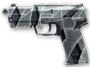 H&K USP Winter Camo Render