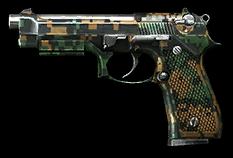 Beretta M9 U.S. Set Render