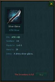 Silver Glaive