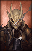 Firebreather portrait