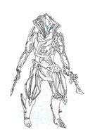 Warframe loki prime fan art sketch by shadowdragon014-d8x4vgq