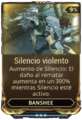 Silencio violento