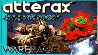 Warframe - ATTERAX PRIMED REACH - Riven mod