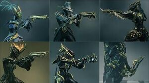 Warframe - All Prime Secondaries - Weapon Animations & Sounds (2013 - 2019)