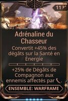 Adrénaline du Chasseur