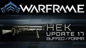 Warframe Hek - Buffed & Forma
