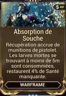 Absorption Souche
