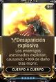 Desaparición explosiva