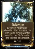Mod Augment Eislawine