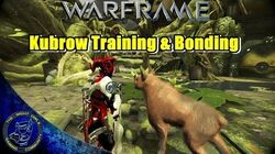 Warframe Adult Kubrow Training & Bonding Walkthrough