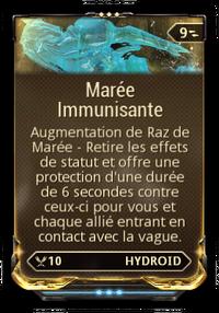 Maree Immunisante