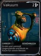 Mod Sentinel Carrier Vacuum