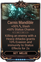 Carnis Mandible