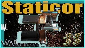 STATICOR - Throwing Energy 4 forma - Warframe