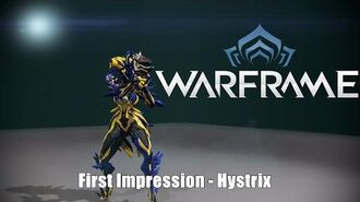 Warframe Hystrix Quick First Impressions - Beasts of the Sanctuary Update