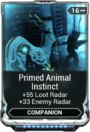 PrimedAnimalInstinctMod