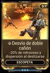 Desvío de doble cañón