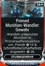 Mod Gewehr PrimedMunitionswandlerGewehr