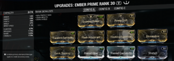 Ember Prime Build