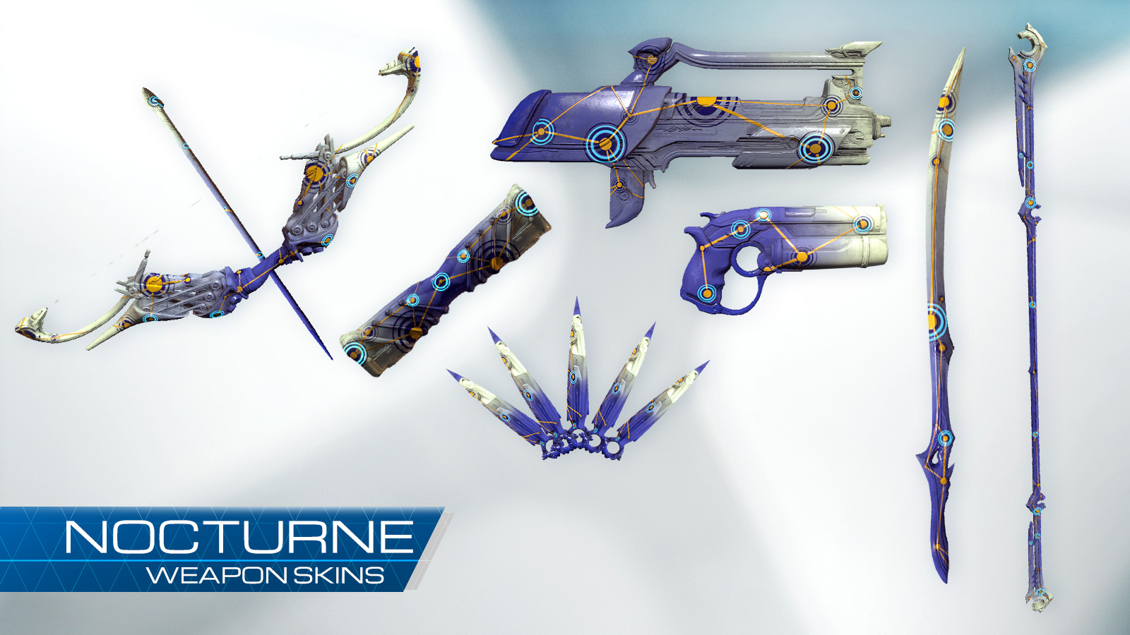 NOCTURNE WEAPON SKIN COLLECTION skins purchasable separately